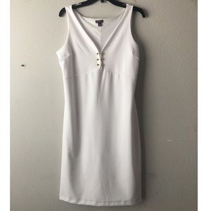 BOLD Elements white dress for Ladies